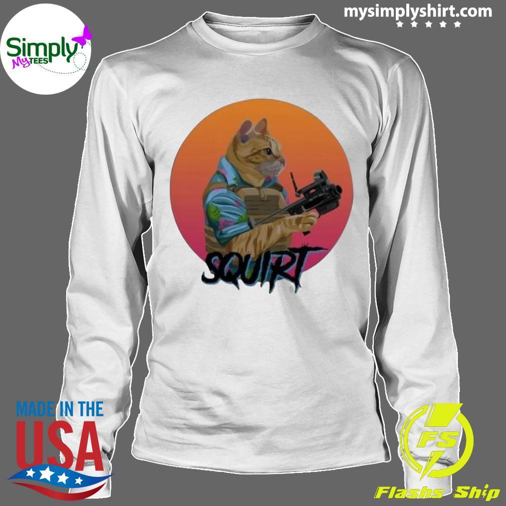 Donut Operator Cat T-Shirt Longsleeve