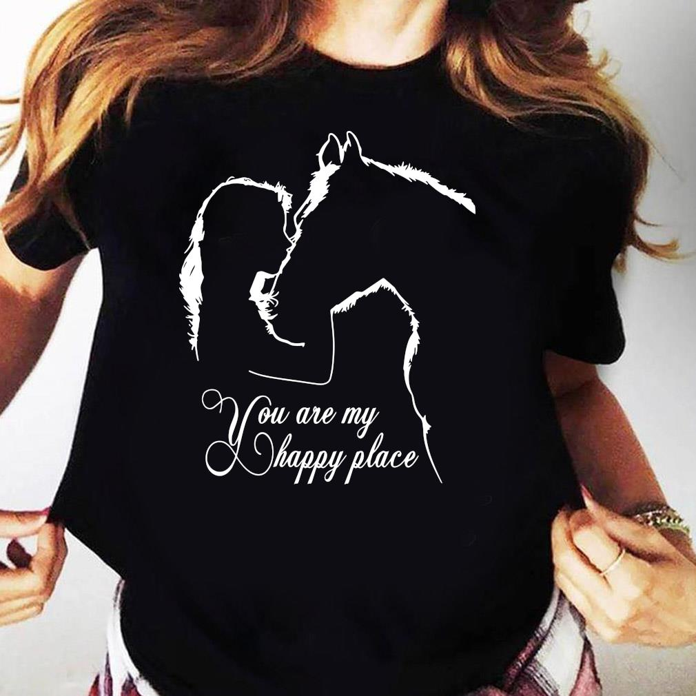 Girl And House You Are My Happy Place Shirt Ladies tee