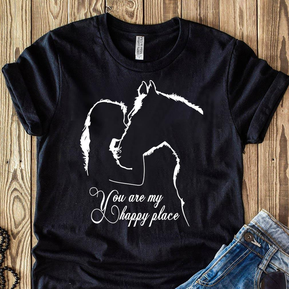 Girl And House You Are My Happy Place Shirt