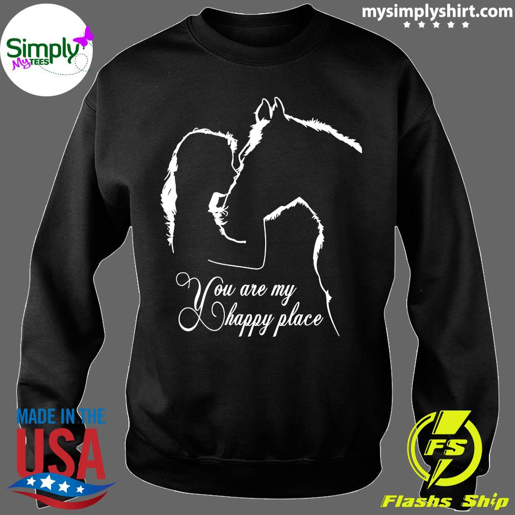 Girl And House You Are My Happy Place Shirt Sweater
