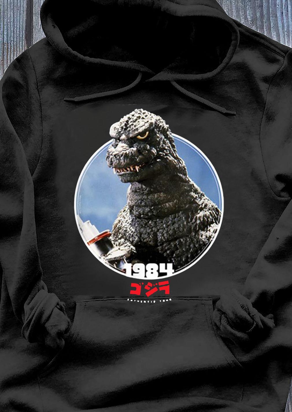 Godzilla 1984 The Return of Godzilla Icons of Toho Shirt Hoodie