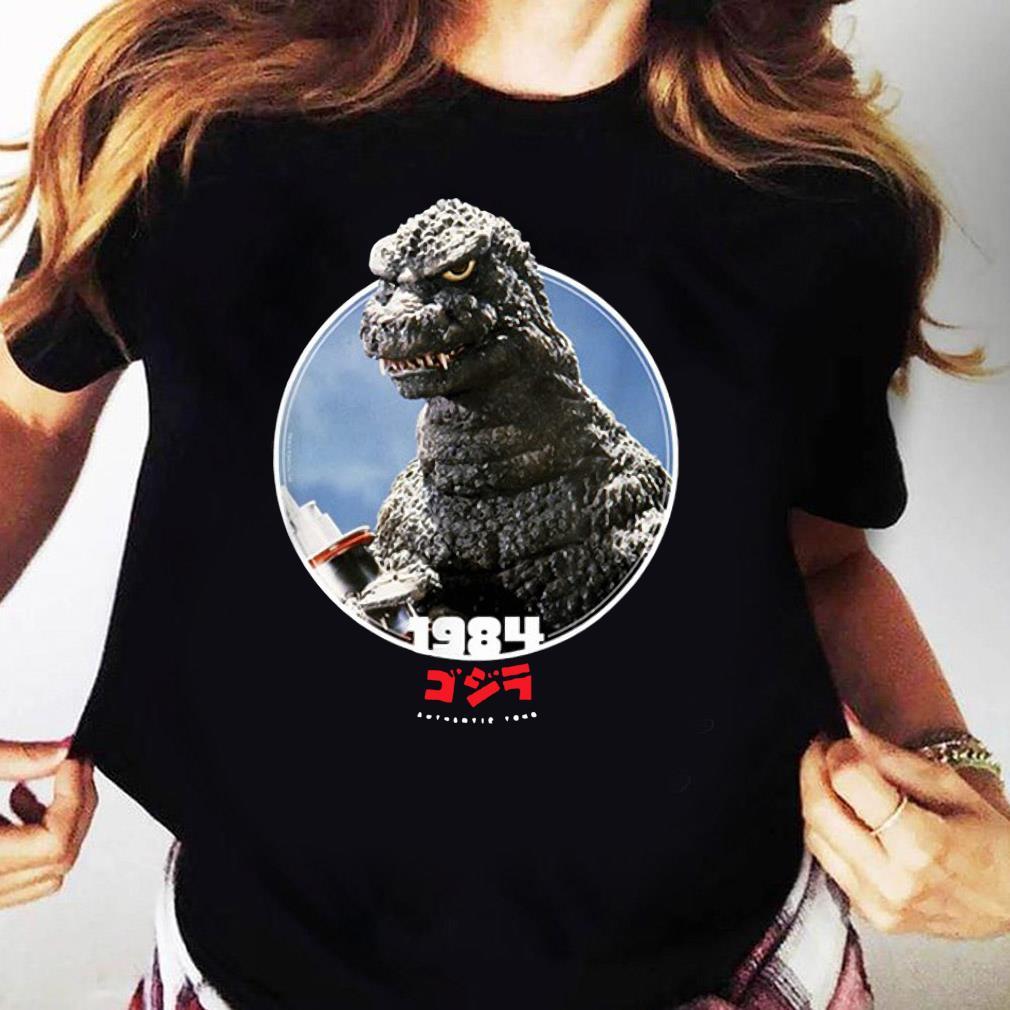 Godzilla 1984 The Return of Godzilla Icons of Toho Shirt Ladies tee