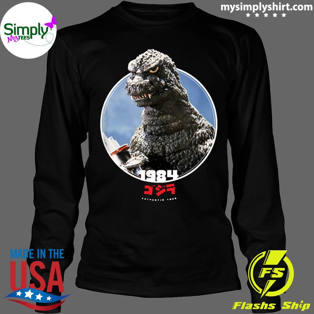 Godzilla 1984 The Return of Godzilla Icons of Toho Shirt Longsleeve