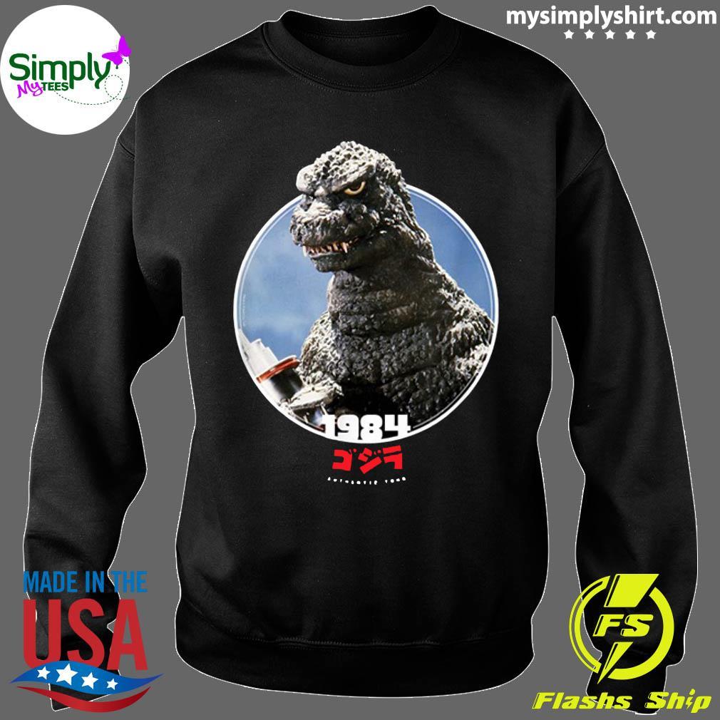 Godzilla 1984 The Return of Godzilla Icons of Toho Shirt Sweater