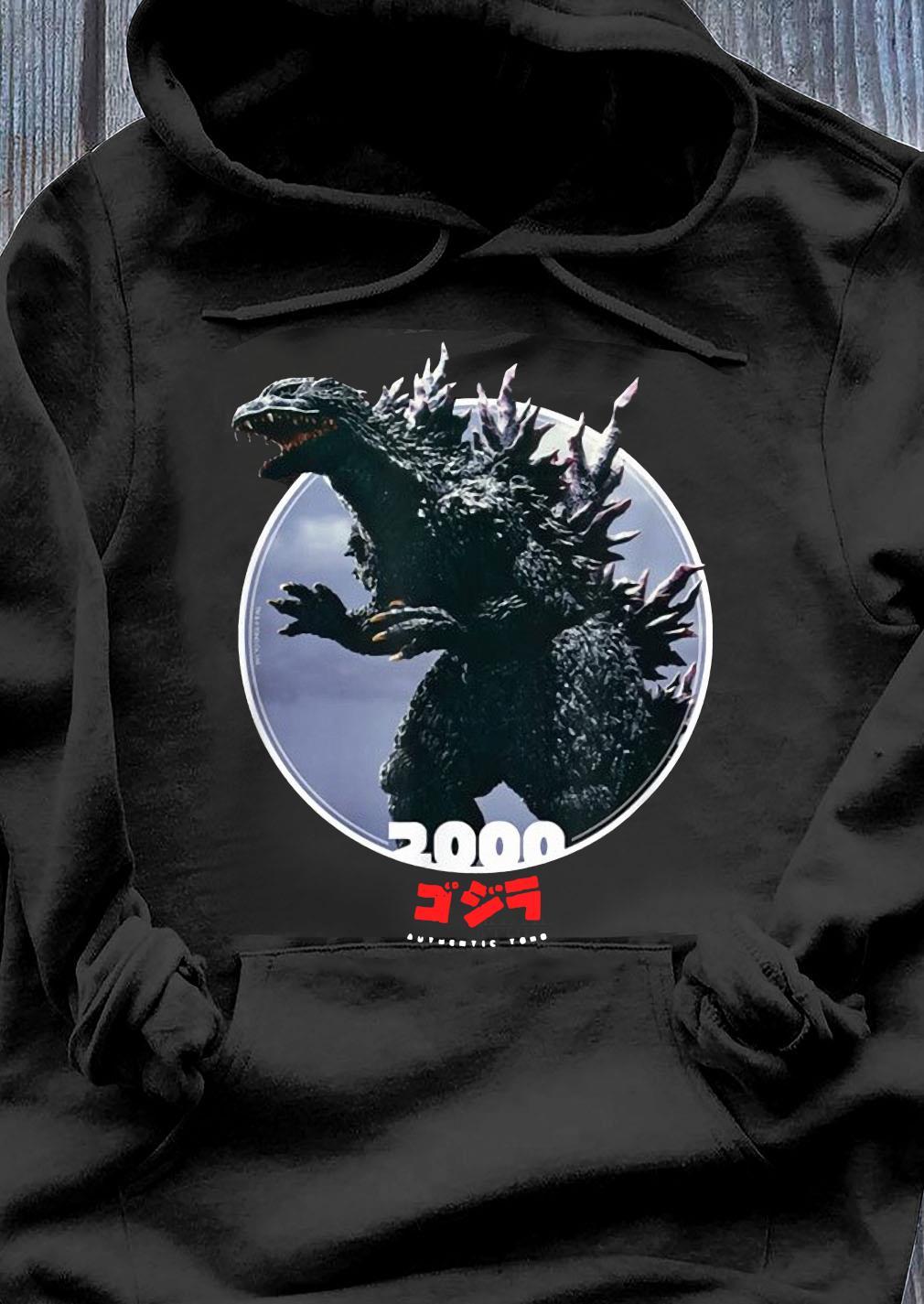 Godzilla 2000 Millennium Era Icons of Toho Shirt Hoodie