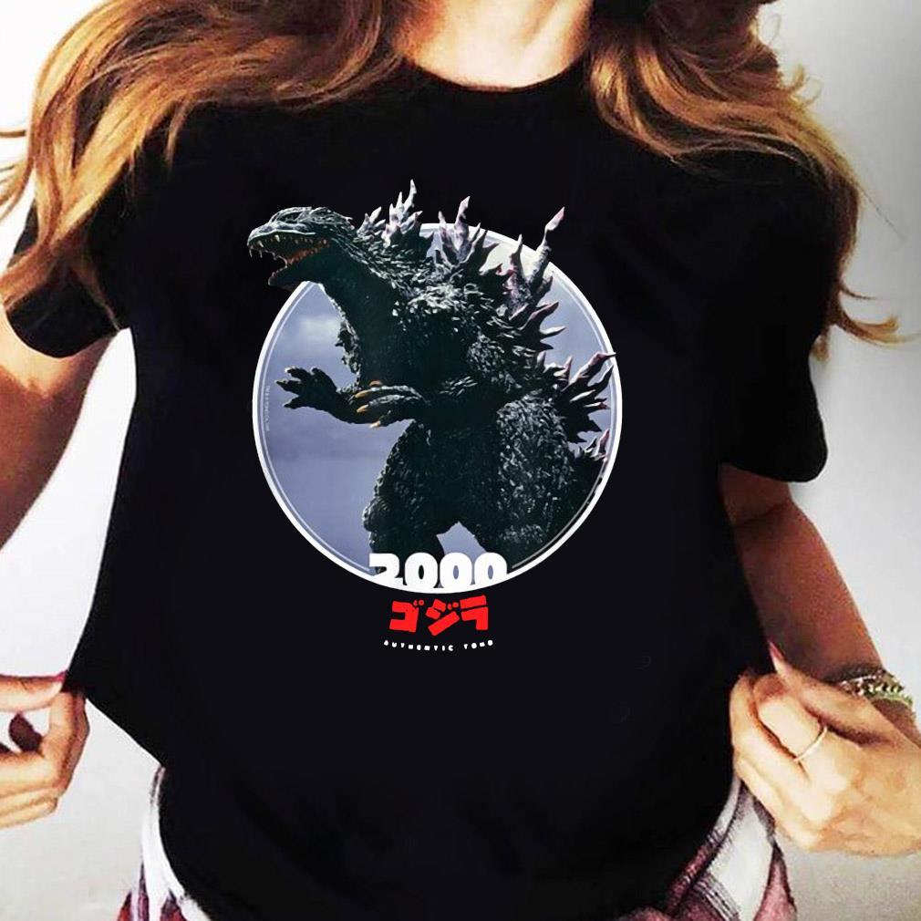 Godzilla 2000 Millennium Era Icons of Toho Shirt Ladies tee