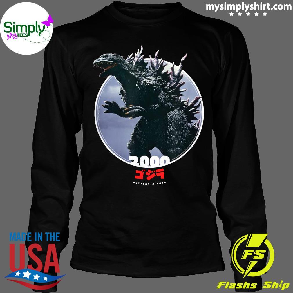 Godzilla 2000 Millennium Era Icons of Toho Shirt Longsleeve