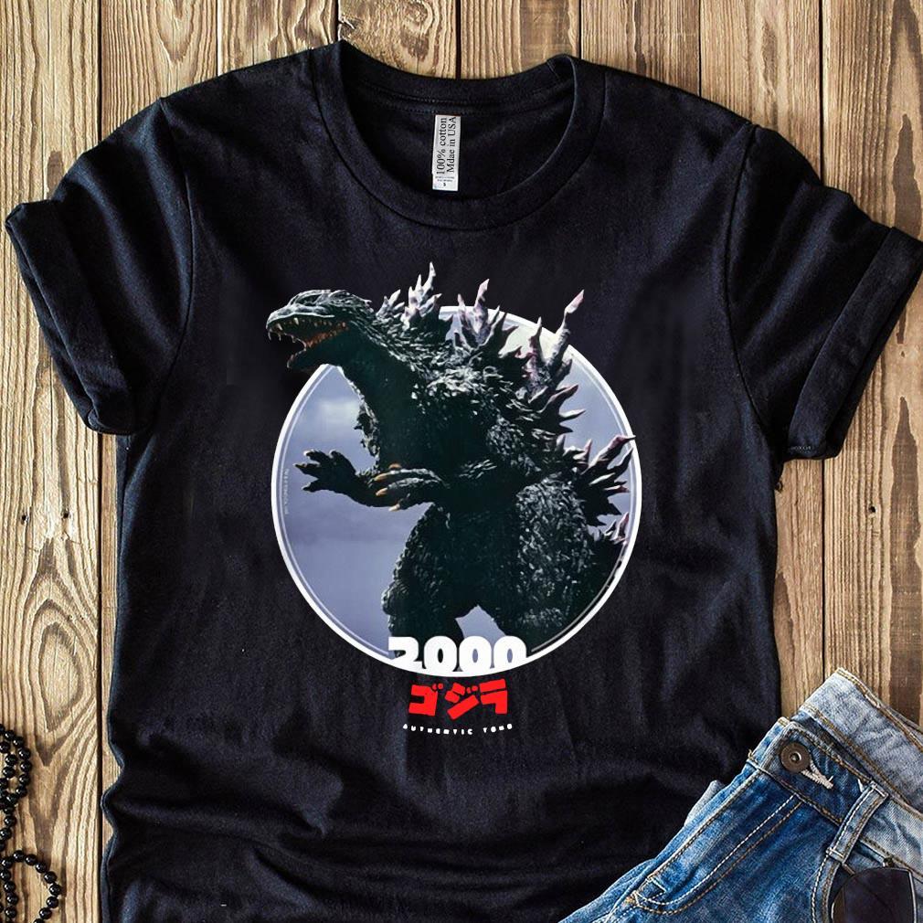 Godzilla 2000 Millennium Era Icons of Toho Shirt