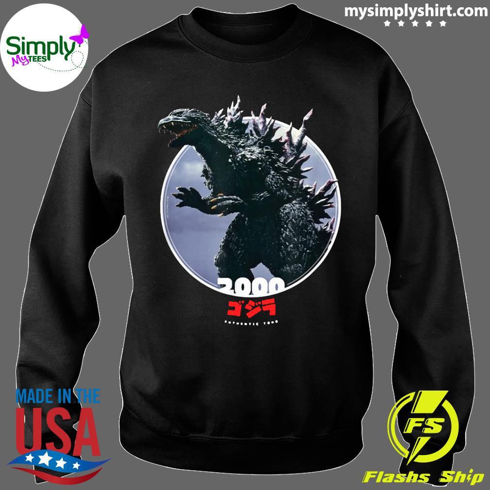 Godzilla 2000 Millennium Era Icons of Toho Shirt Sweater