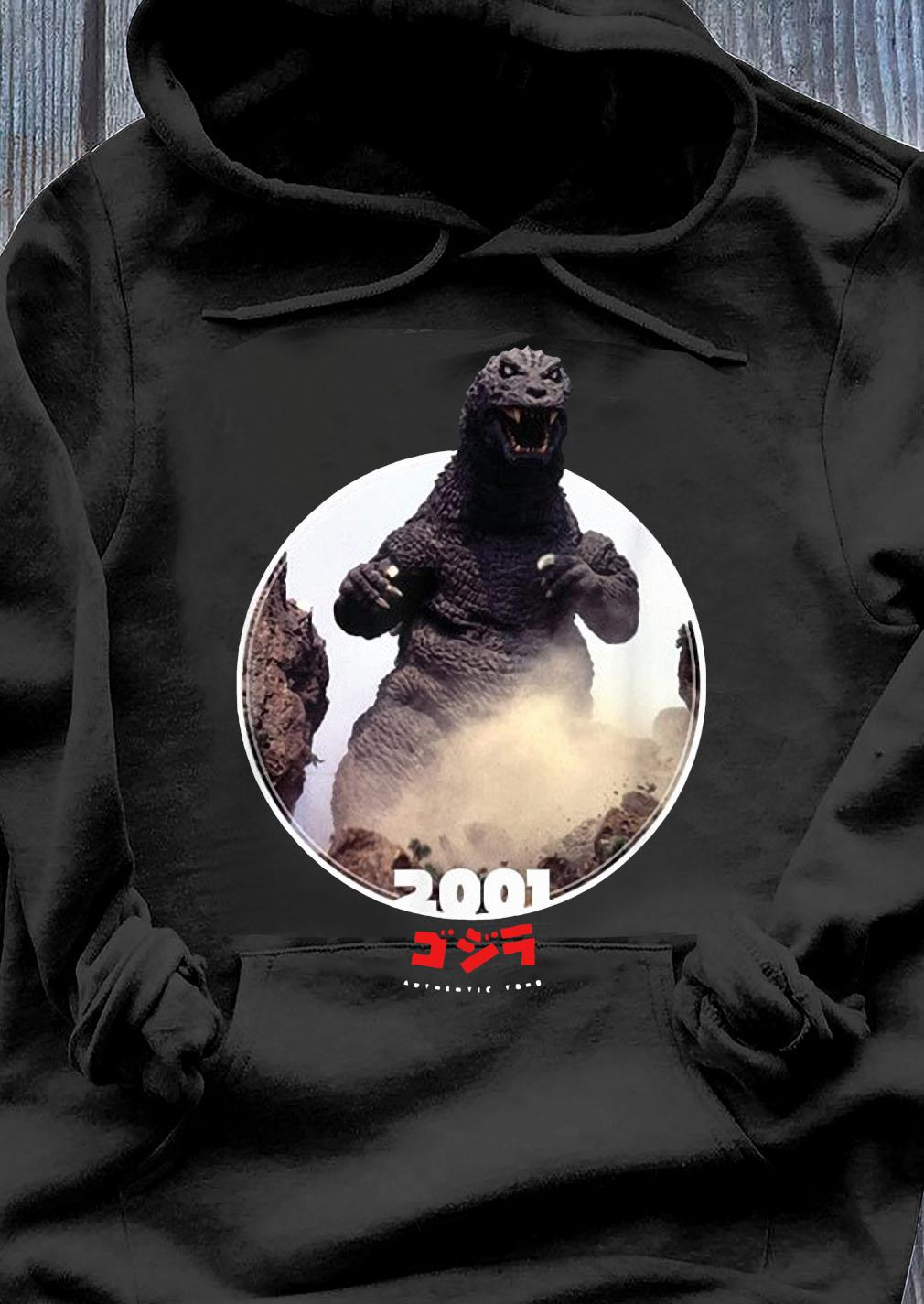 Godzilla 2001 GMK Icons of Toho Shirt Hoodie