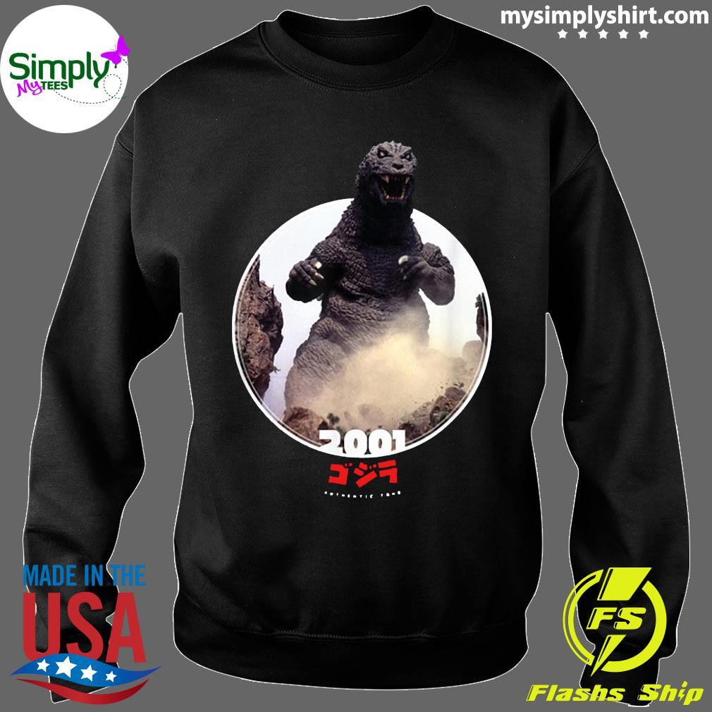 Godzilla 2001 GMK Icons of Toho Shirt Sweater
