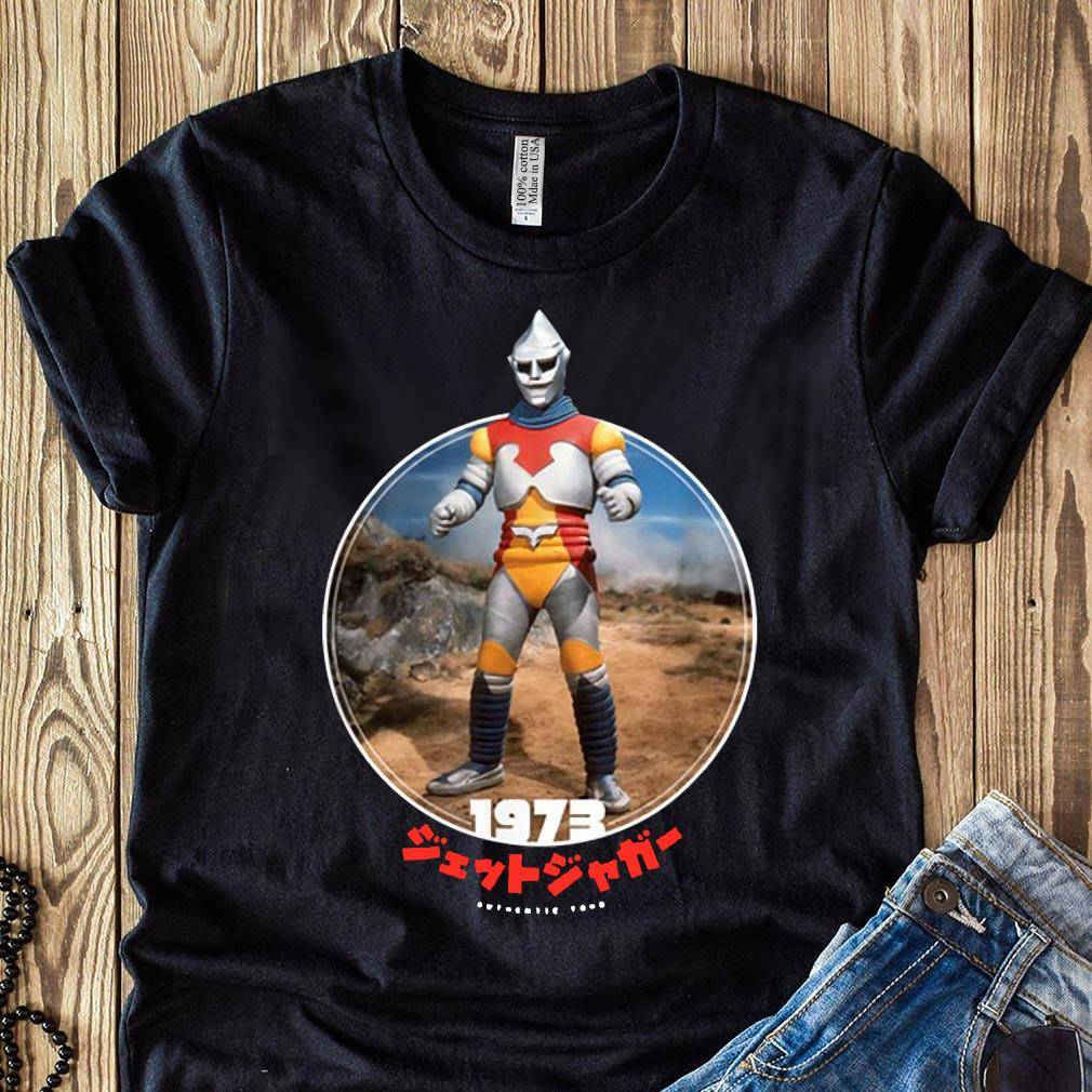 Godzilla Jet Jaguar 1973 Icons Of Toho Shirt