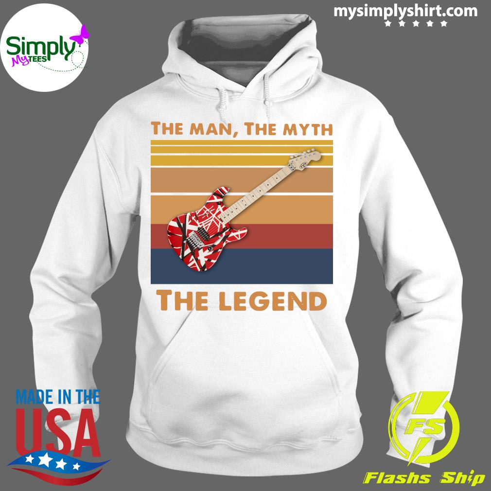 Guitar The Man The Myth The Legend Vintage Shirt Hoodie