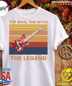 Guitar The Man The Myth The Legend Vintage Shirt Ladies tee