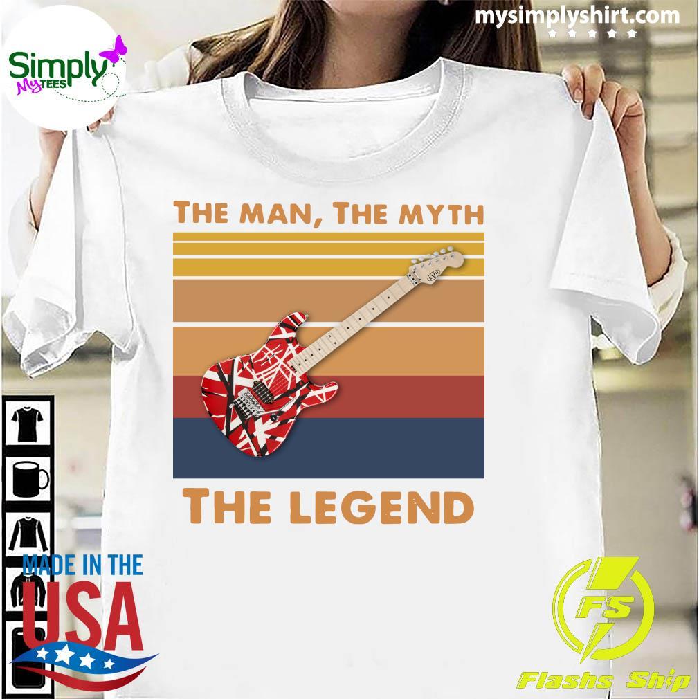 Guitar The Man The Myth The Legend Vintage Shirt