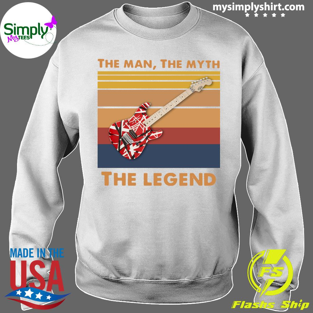 Guitar The Man The Myth The Legend Vintage Shirt Sweater