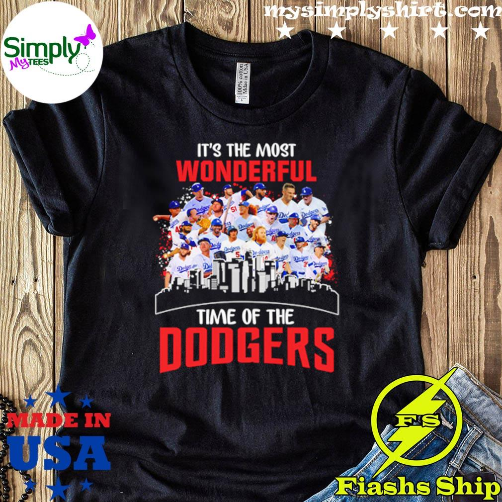 Is The Most Wonderful Time Of The Los Angeles Dodgers Shirt