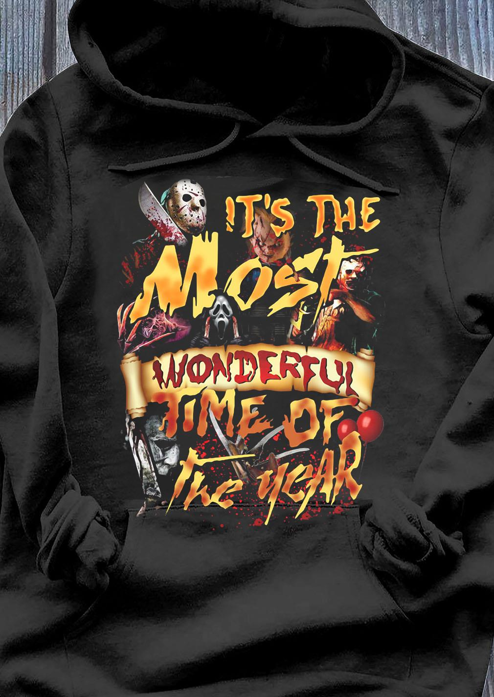 It's The Most Wonderful TIme Of The Year Shirt Hoodie