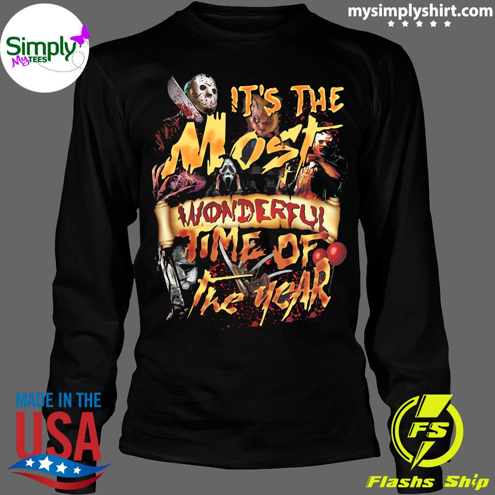 It's The Most Wonderful TIme Of The Year Shirt Longsleeve