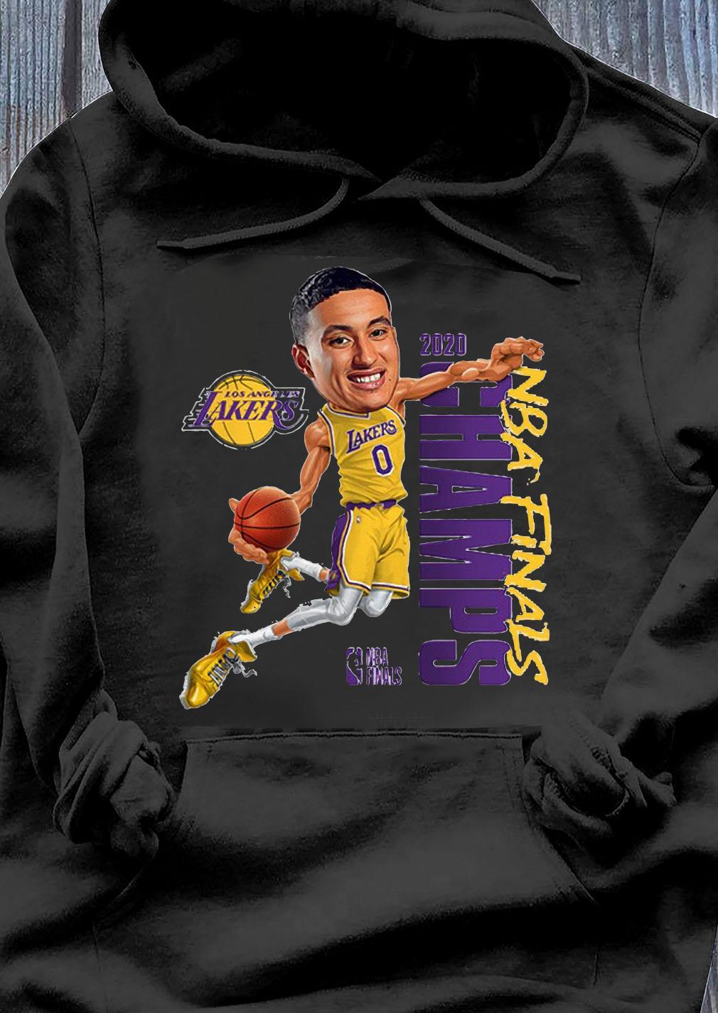 Kyle Kuzma LA Lakers Champions 2020 T-Shirt Hoodie