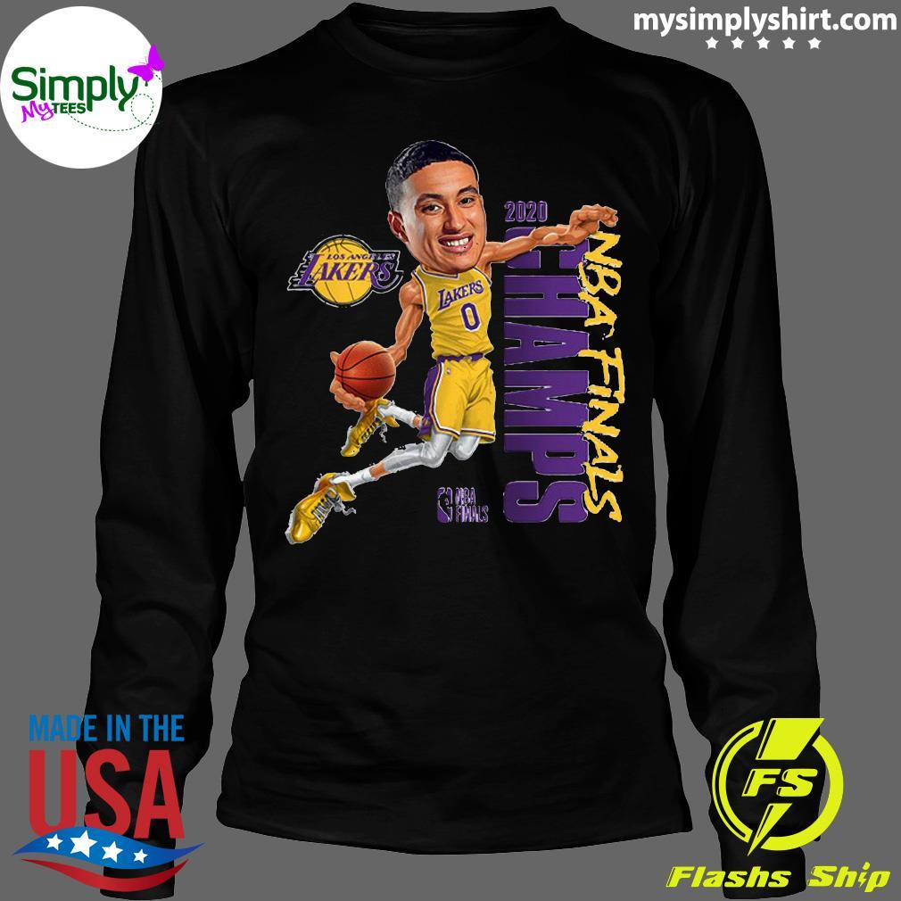 Kyle Kuzma LA Lakers Champions 2020 T-Shirt Longsleeve
