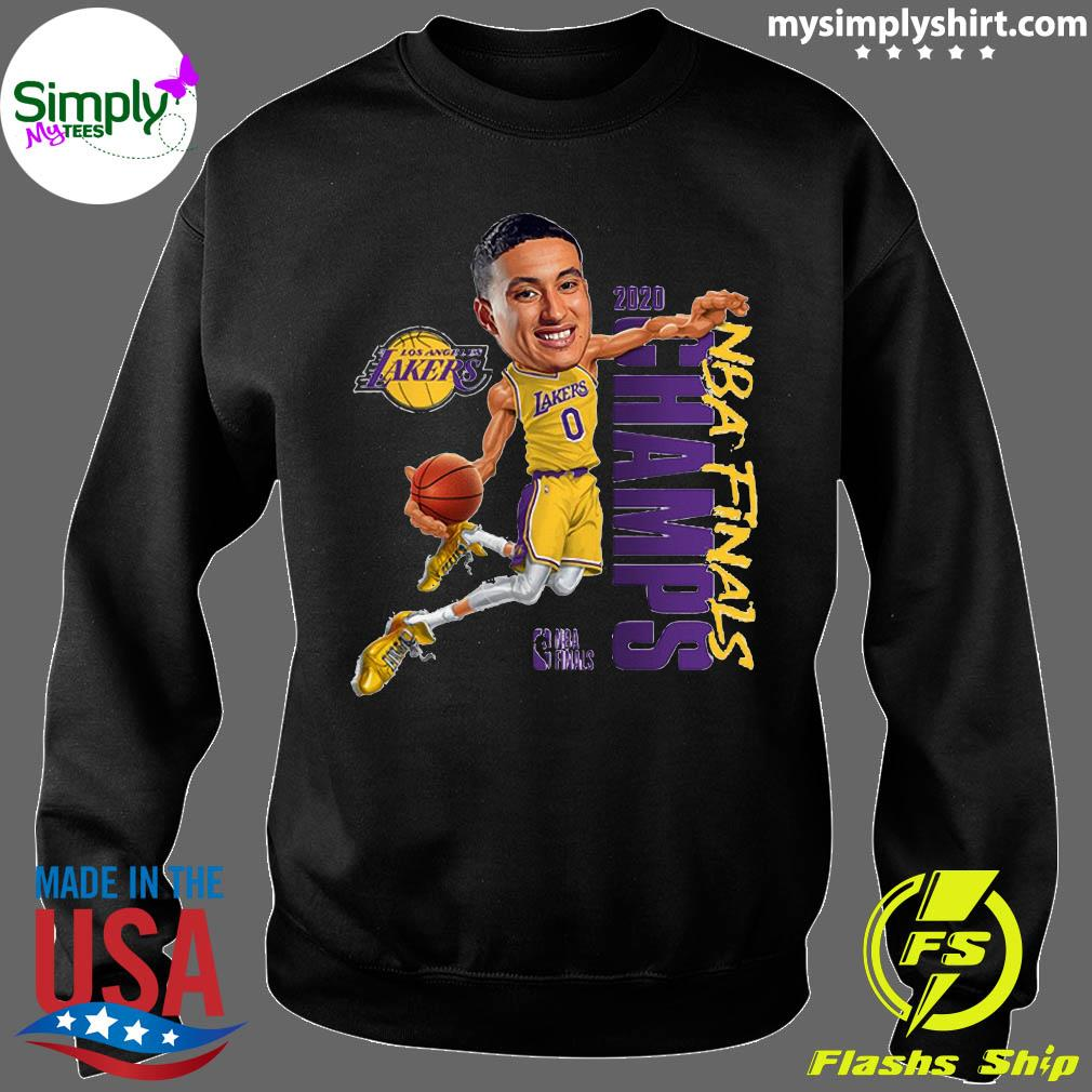 Kyle Kuzma LA Lakers Champions 2020 T-Shirt Sweater