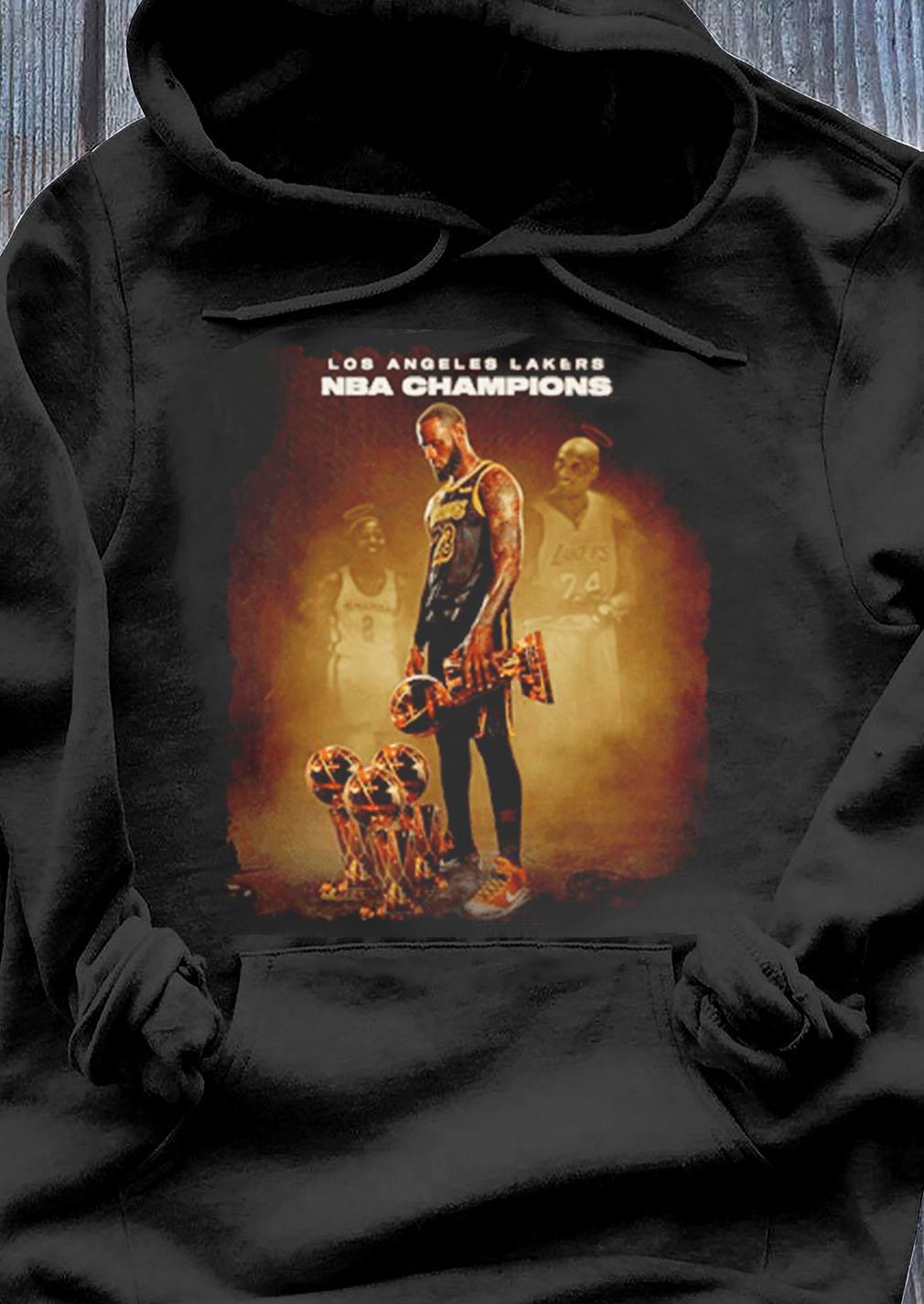 Lebron James Los Angeles Lakers Nba Champions Shirt Hoodie