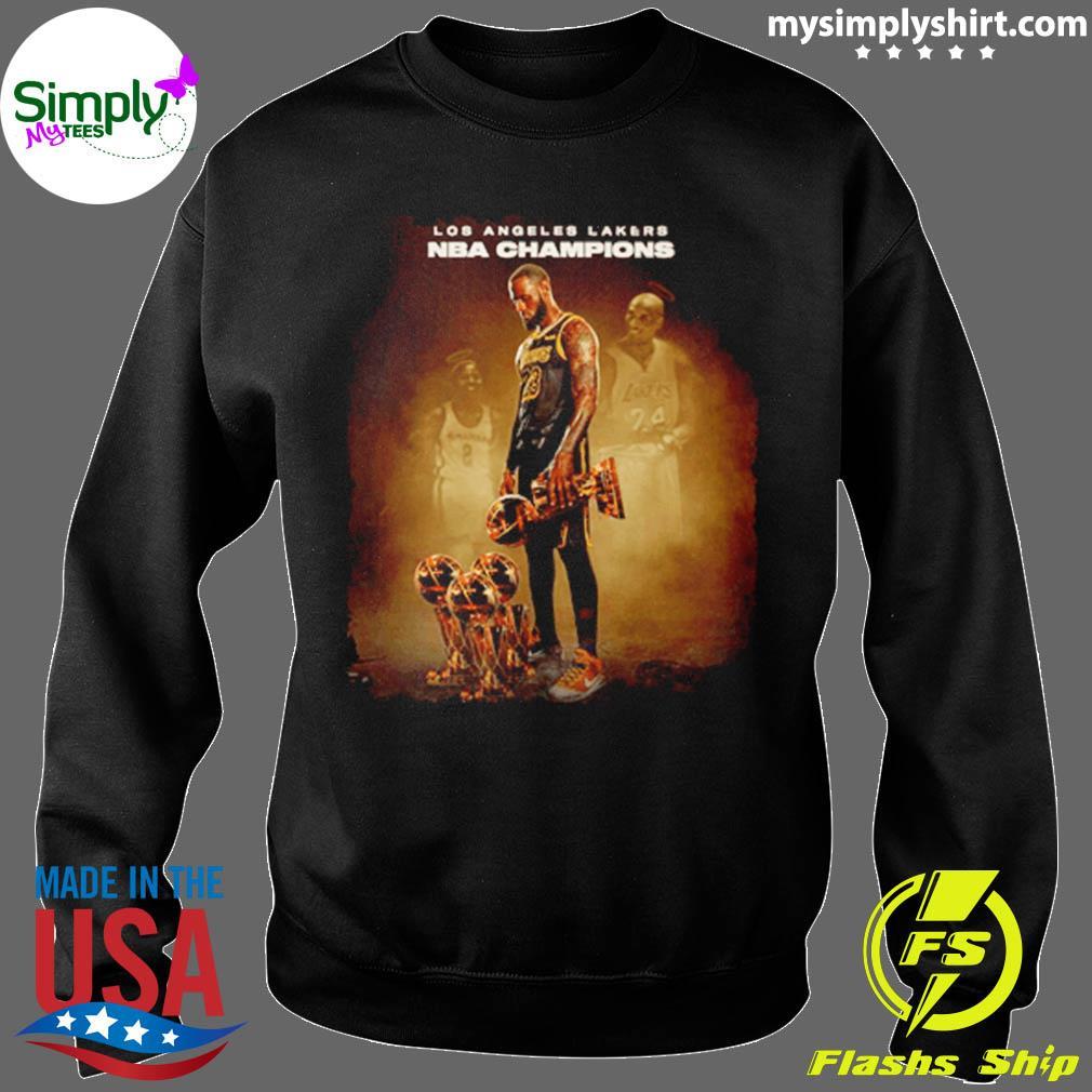 Lebron James Los Angeles Lakers Nba Champions Shirt Sweater