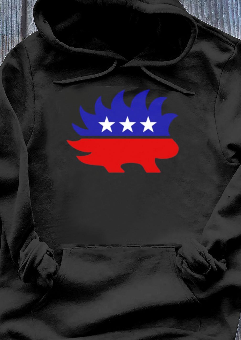 Libertarian Porcupine Shirt Hoodie