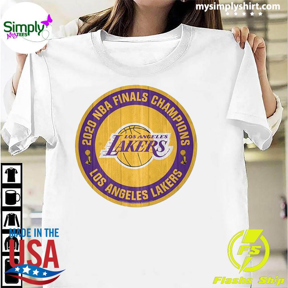 Los Angeles 2020 NBA Finals Champions Shirt
