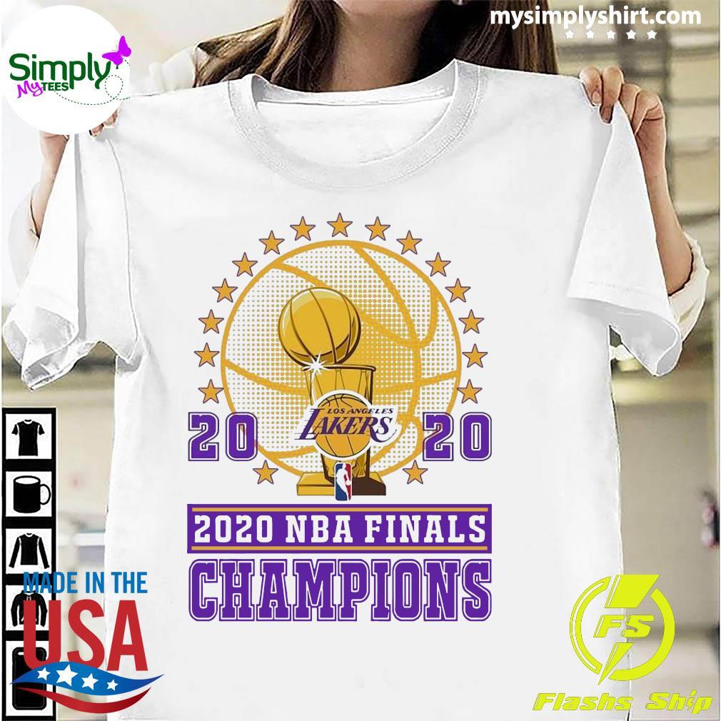 Los Angeles Lakers 2020 NBA Finals Champions Uniex Shirt