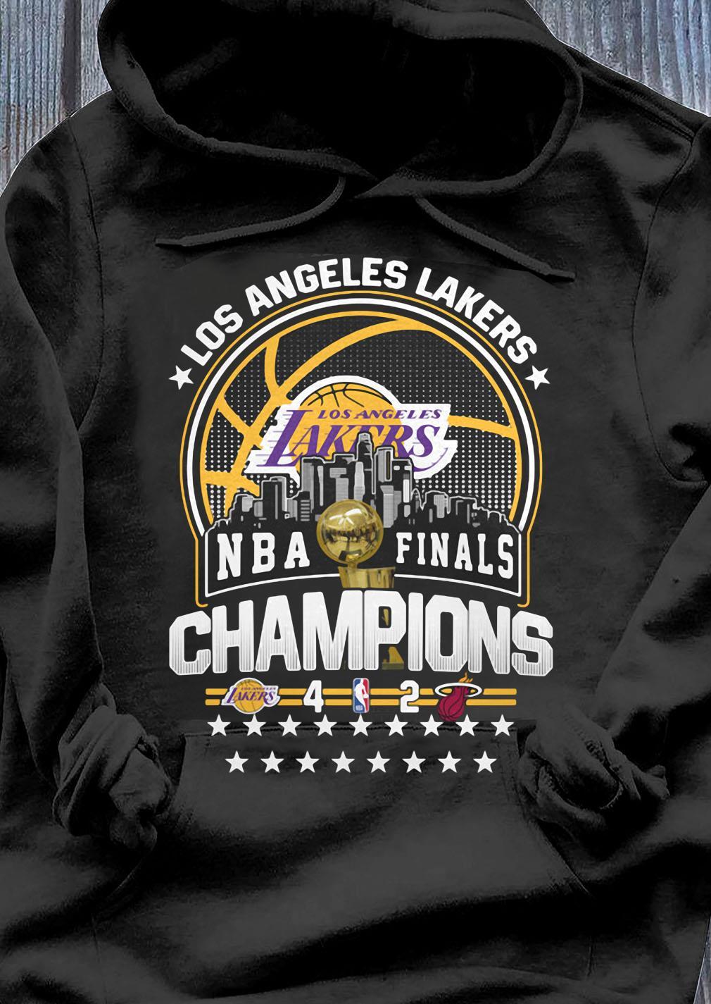 Los Angeles Lakers Los NBA Finals Champions 2020 Shirt Hoodie