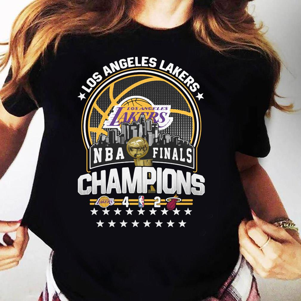 Los Angeles Lakers Los NBA Finals Champions 2020 Shirt Ladies tee