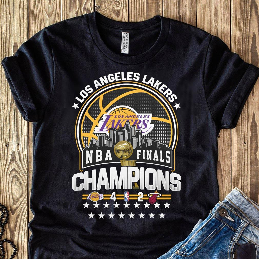 Los Angeles Lakers Los NBA Finals Champions 2020 Shirt