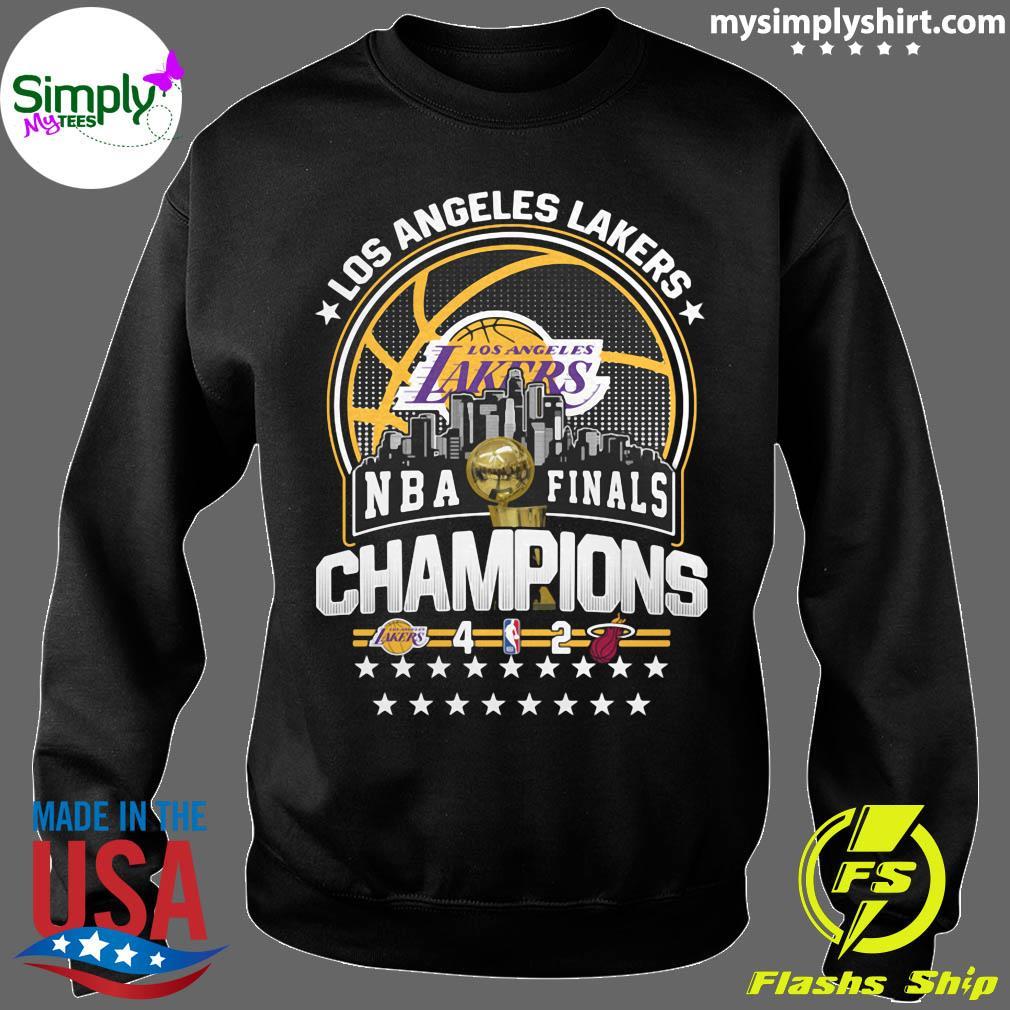 Los Angeles Lakers Los NBA Finals Champions 2020 Shirt Sweater