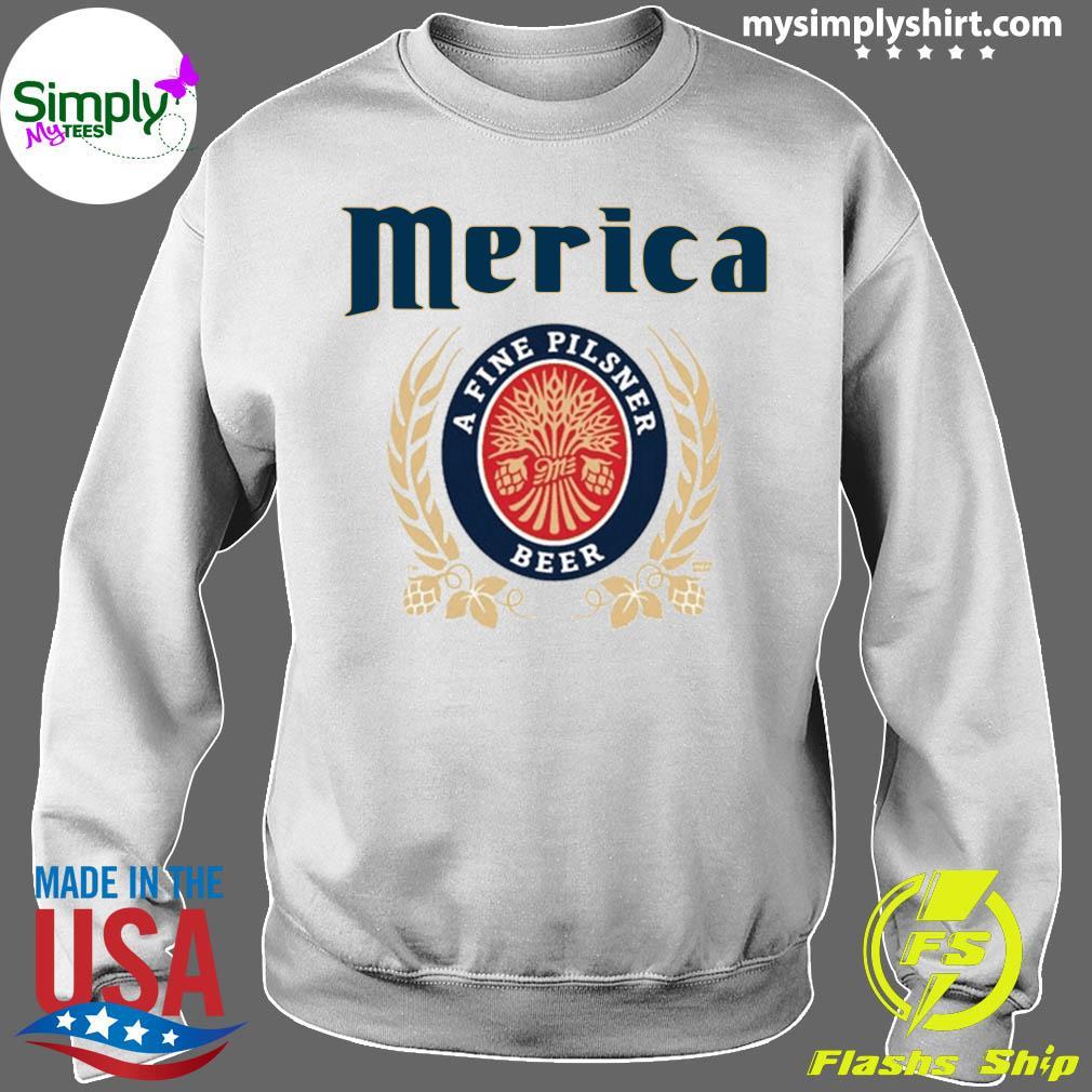 Merica A Fine Pilsner Beer Shirt Sweater