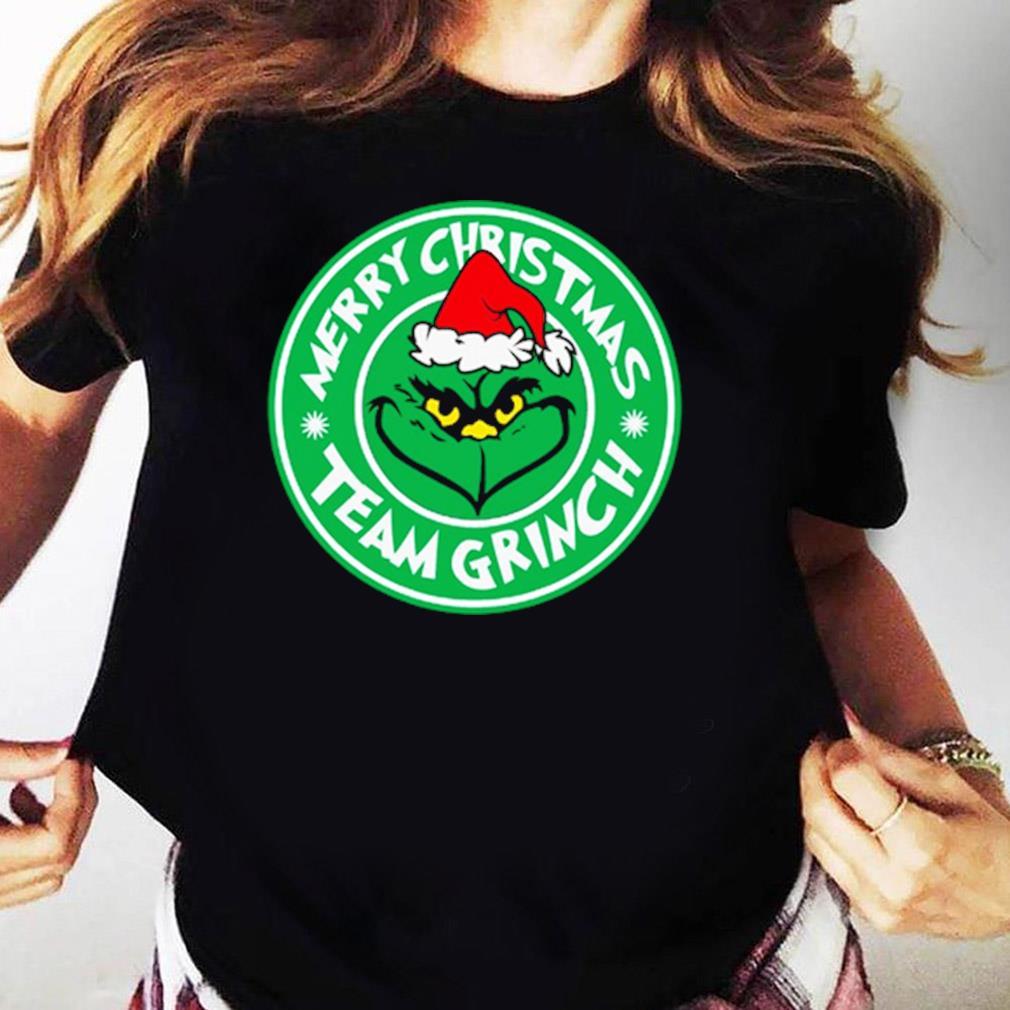 Merry Christmas Team Grinch Shirt Ladies tee