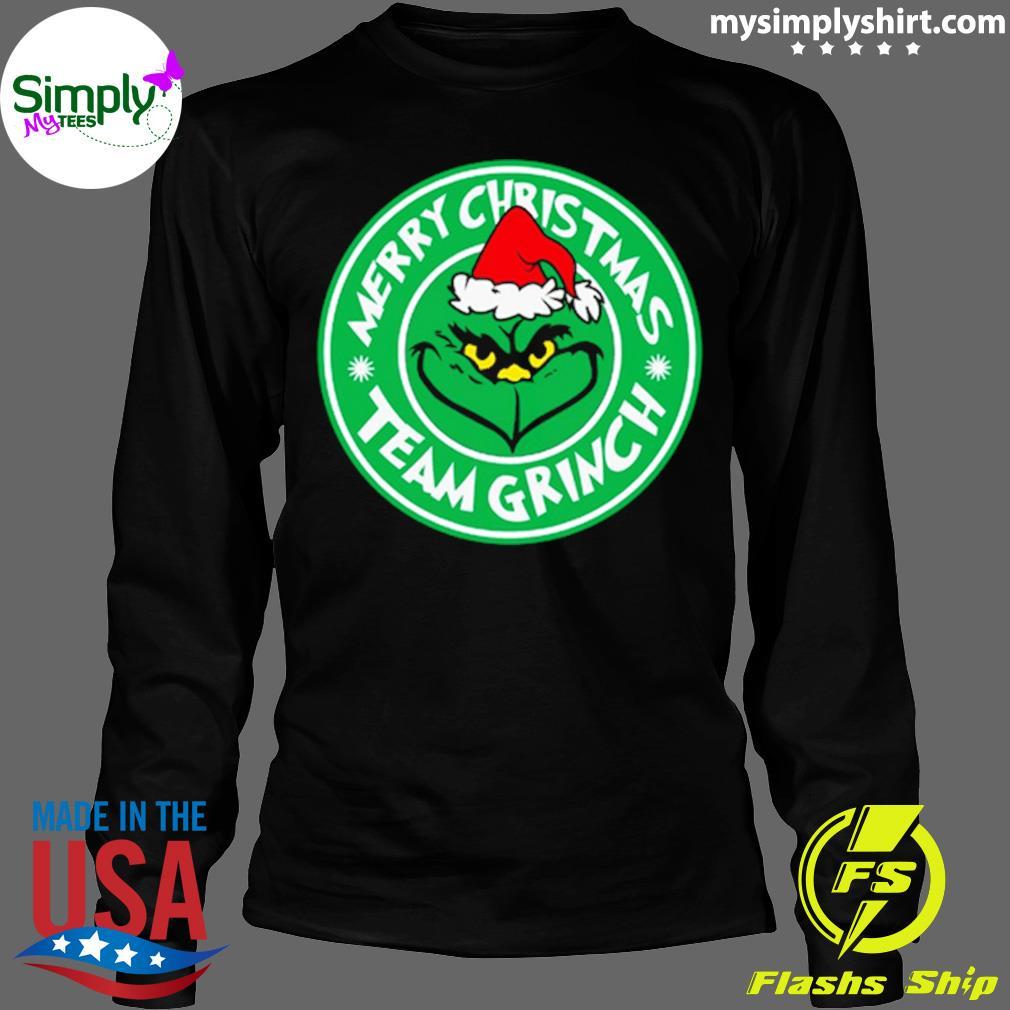 Merry Christmas Team Grinch Shirt Longsleeve