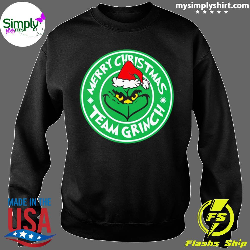 Merry Christmas Team Grinch Shirt Sweater