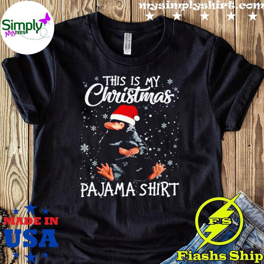 Mole Wearing Santa Hat This Is My Christmas Shirt