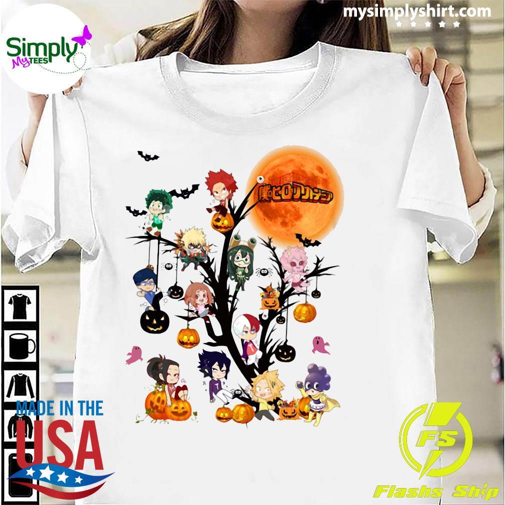 My Hero Academia Halloween Tree Shirt