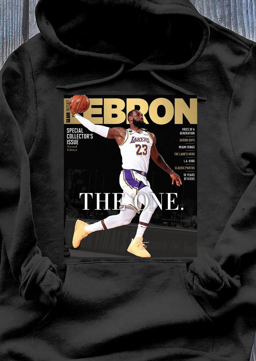 Official LeBron James The One Shirt Hoodie