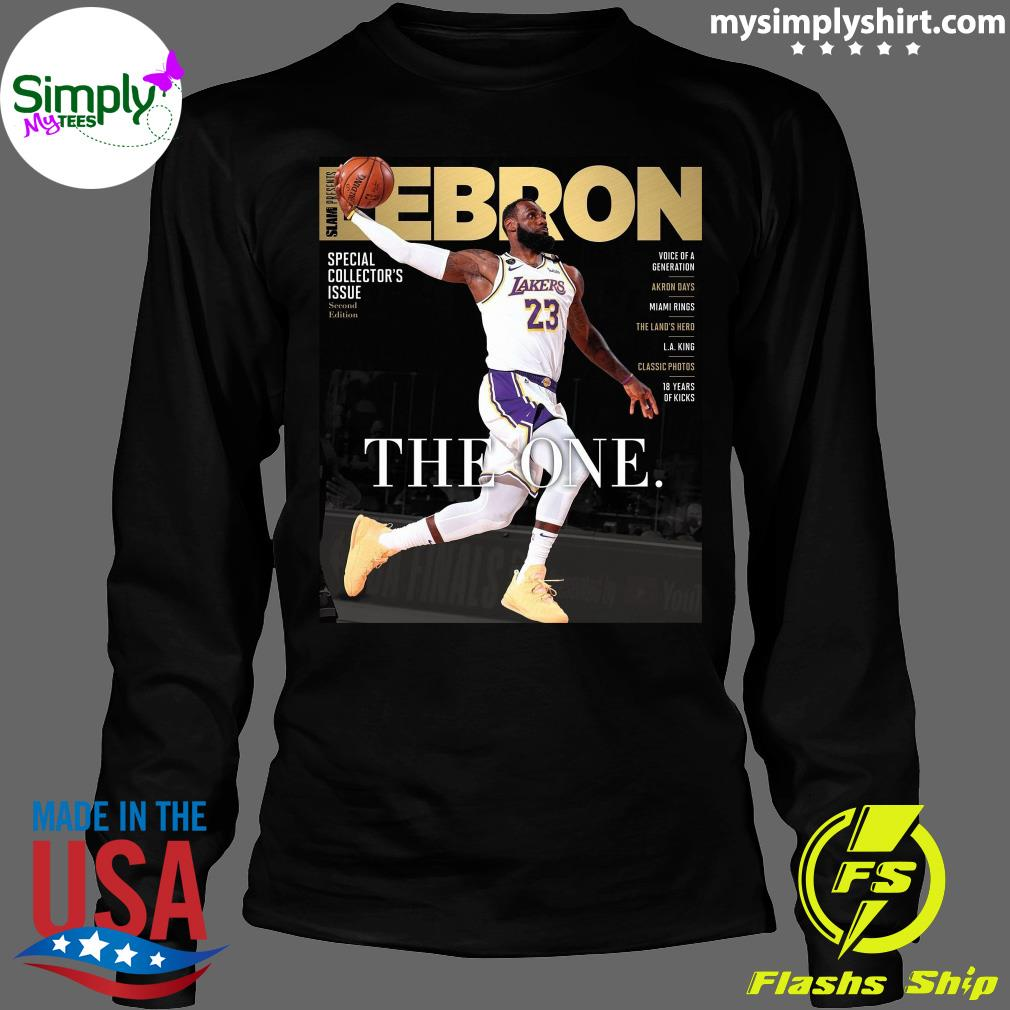 Official LeBron James The One Shirt Longsleeve