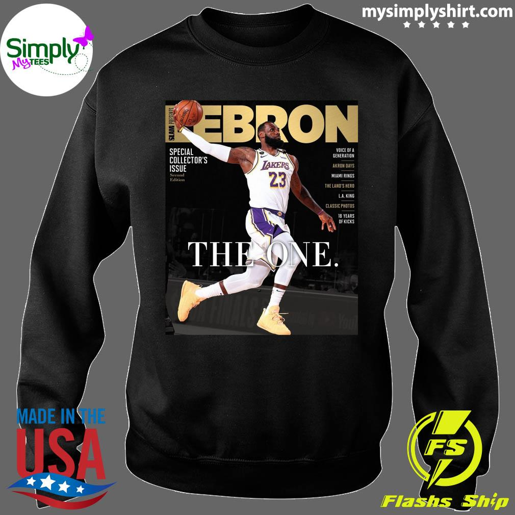Official LeBron James The One Shirt Sweater