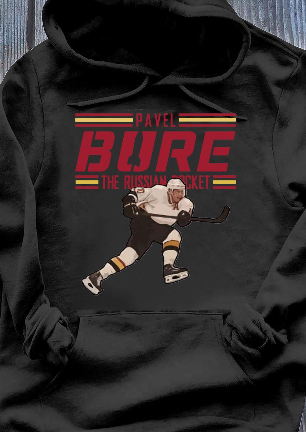 Pavel Bure The Russian Rocket Play T-Shirt Hoodie