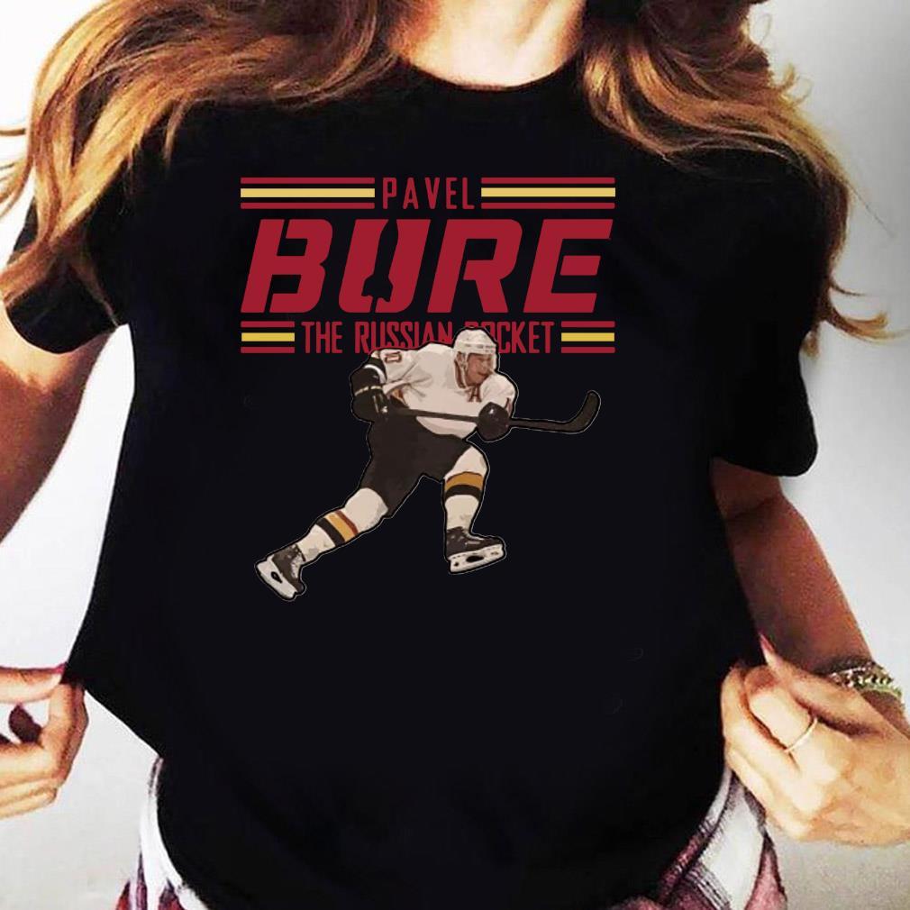 Pavel Bure The Russian Rocket Play T-Shirt Ladies tee