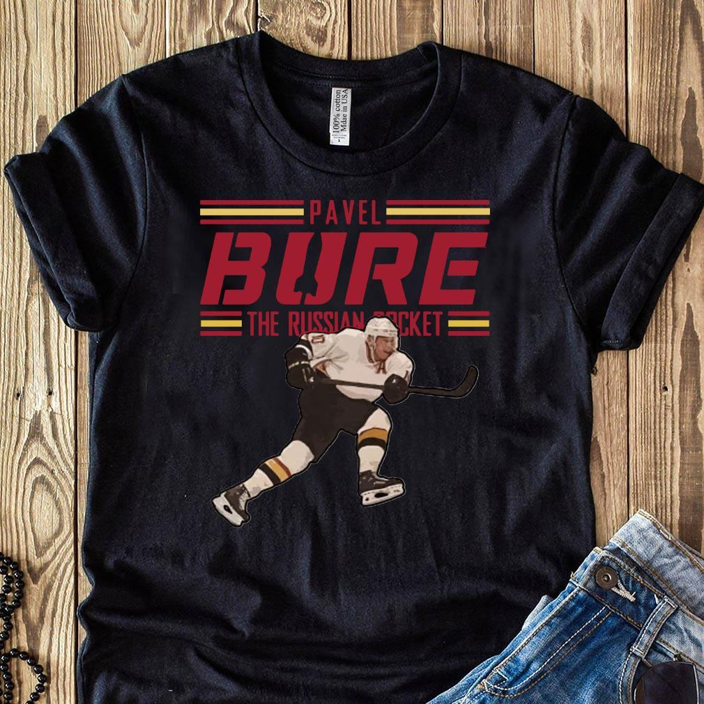 Pavel Bure The Russian Rocket Play T-Shirt