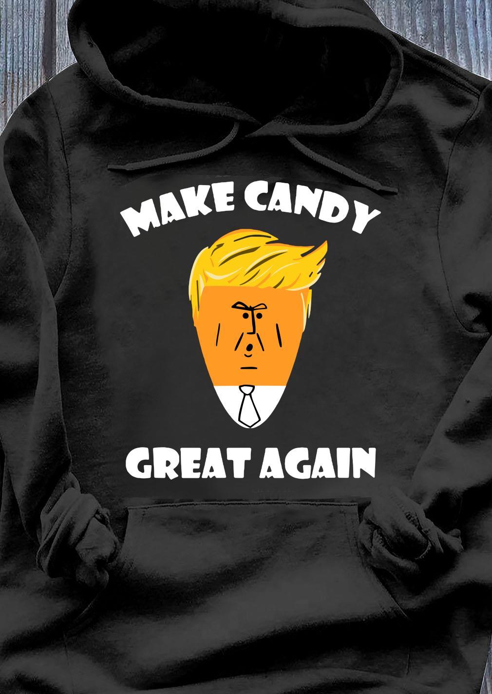 President Trump 2020 Halloween Make Candy Corn Great Again Shirt Hoodie