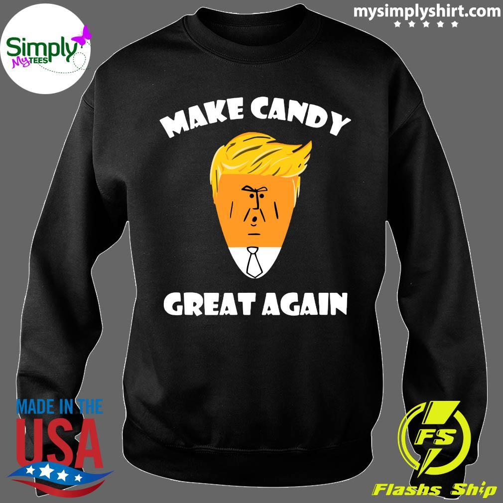 President Trump 2020 Halloween Make Candy Corn Great Again Shirt Sweater