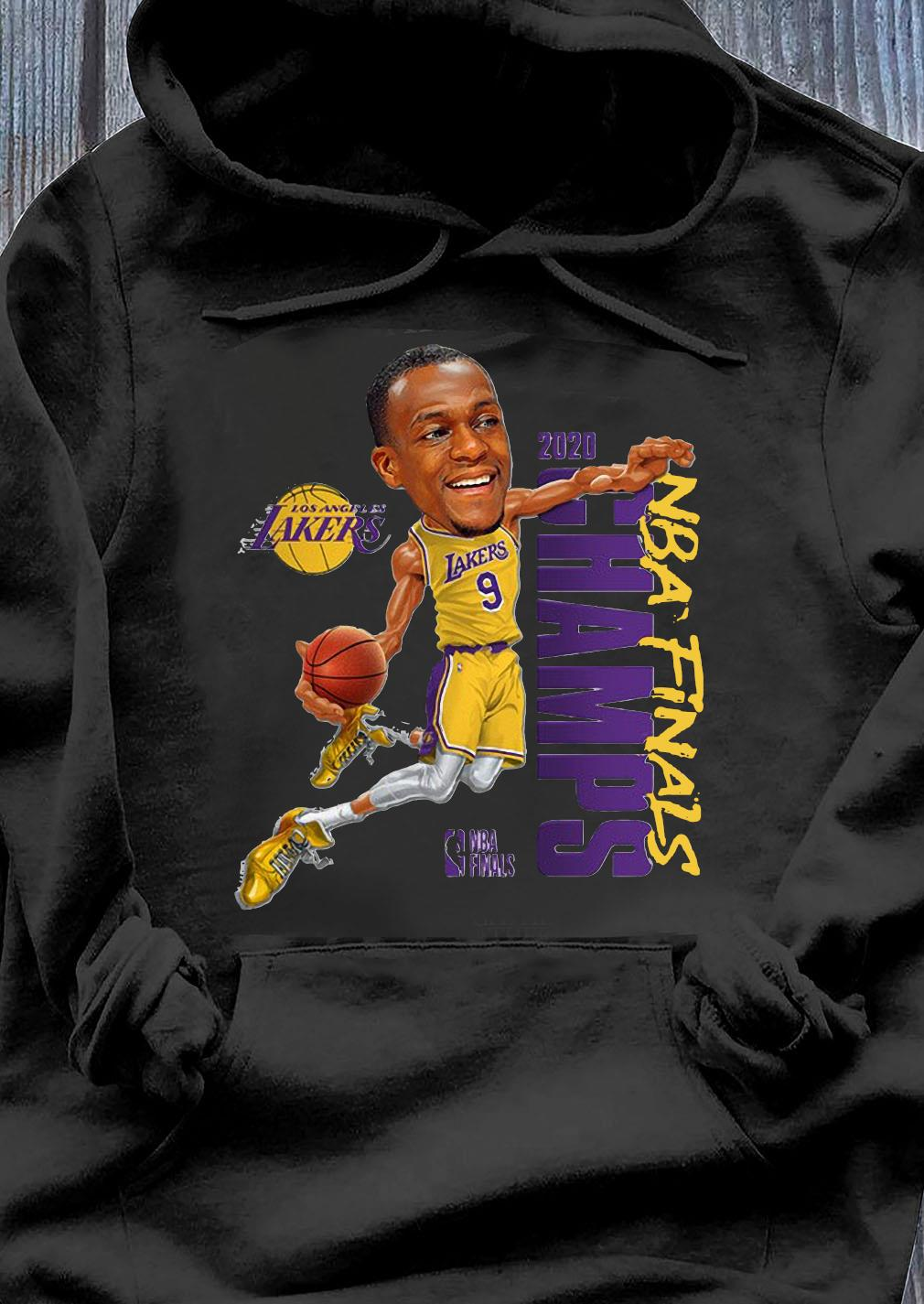 Rajon Rondo LA Lakers Champions 2020 T-Shirt Hoodie
